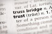 Dictionary Series - Attributes: Trust