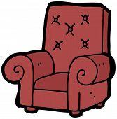 cartoon armchair
