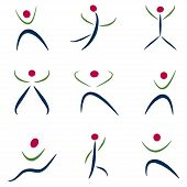 Abstract People Icons