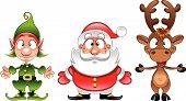 Santa Claus, Elf,