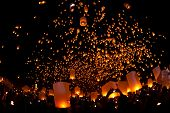 Loi Krathong and Yi Peng Festival