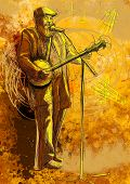 jugador de banjo