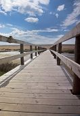 Chesil Beach Boardwalk