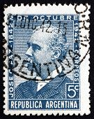 Postage Stamp Argentina 1942 Jose Clemente Paz, Statesman