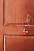 Heart On A Door