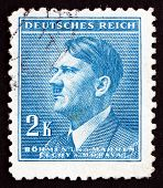 Postage Stamp Czechoslovakia 1942 Adolf Hitler