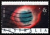 Postage Stamp Australia 1992 Helix Nebula, Planetary Nebula