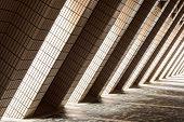 Diagonal Architectural Abstract