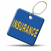 stock photo of fire insurance  - insurance risk management pay premium at broker and collect your claim of health car travel and fire insurances assessment of risks - JPG
