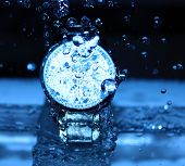Watch Under Water Drops