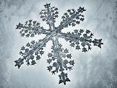 Illustrated snowflake
