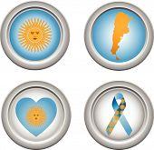 Botones Argentina