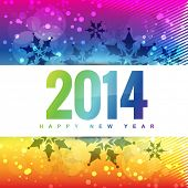 colorful happy new year style background