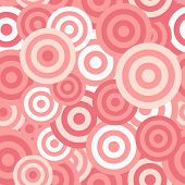 Hypnotic Seamless Pattern Background. Vector Illustration
