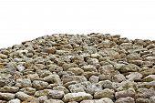 Mountain Of Sandstone Rocks