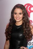 LOS ANGELES - DEC 6:  Madison Pettis at the KIIS FM Jingle Ball 2013 at Staples Center on December 6