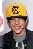 LOS ANGELES - DEC 6:  Austin Mahone at the KIIS FM Jingle Ball 2013 at Staples Center on December 6,
