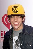 LOS ANGELES - DEC 6:  Austin Mahone at the KIIS FM Jingle Ball 2013 at Staples Center on December 6, 2013 in Los Angeles, CA