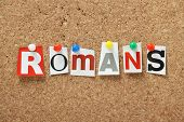 The word Romans