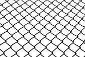 Wire rhomb pattern net background