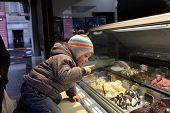 Child Choosing Ice Cream