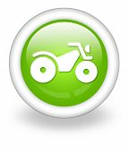 picture of four-wheelers  - Icon Button Pictogram Illustration Image with ATV symbol - JPG