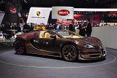 Bugatti Veyron Grand Sport Vitesse Rembrandt Bugatti At The Geneva Motor Show