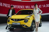 Nissan Juke At The Geneva Motor Show