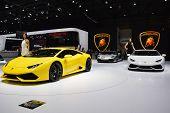 Lamborghini Huracan Unveiled At The Geneva Motor Show
