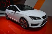 Seat Leon Cupra At The Geneva Motor Show