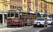 Melbourne Trams/cars