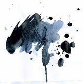 Watercolor Black Spot