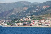 foto of messina  - Italian city in the Straits of Messina - JPG