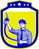 Gas Jockey Gasoline Attendant Shield