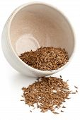 Caraway Seeds In Bowl