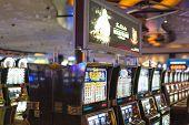 Las Vegas- USA, September, 30: Gaming Slots in Las Vegas Casino in  September, 30, 2013