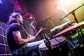 stock photo of drum-set  - Drummer  - JPG