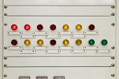 Light On Electrical Panel Control