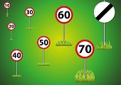Speed Limit Selection on Green