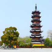 Old Longhua Pagoda (247 A.D.) , Shanghai, China