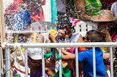 Carnival De Barranquilla, Foam Fun