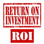Return On Investment-stamp