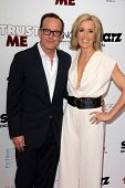LOS ANGELES - MAY 22:  Clark Gregg, Felicity Huffman at the