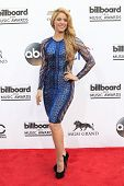 LAS VEGAS - MAY 18:  Shakira at the 2014 Billboard Awards at MGM Grand Garden Arena on May 18, 2014 in Las Vegas, NV