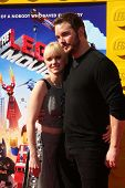 LOS ANGELES - FEB 1:  Anna Faris, Chris Pratt at the