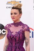 LAS VEGAS - MAY 18:  Cher Lloyd at the 2014 Billboard Awards at MGM Grand Garden Arena on May 18, 20
