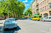street view in Kreuzberg district, Berlin