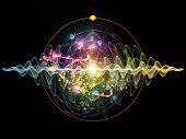 picture of quantum physics  - Elementary Particles series - JPG