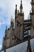 Pinnacles At The Rear Side Of The Cologne Cathedral