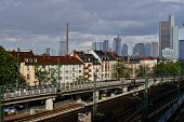West Station District Of Frankfurt Am Main